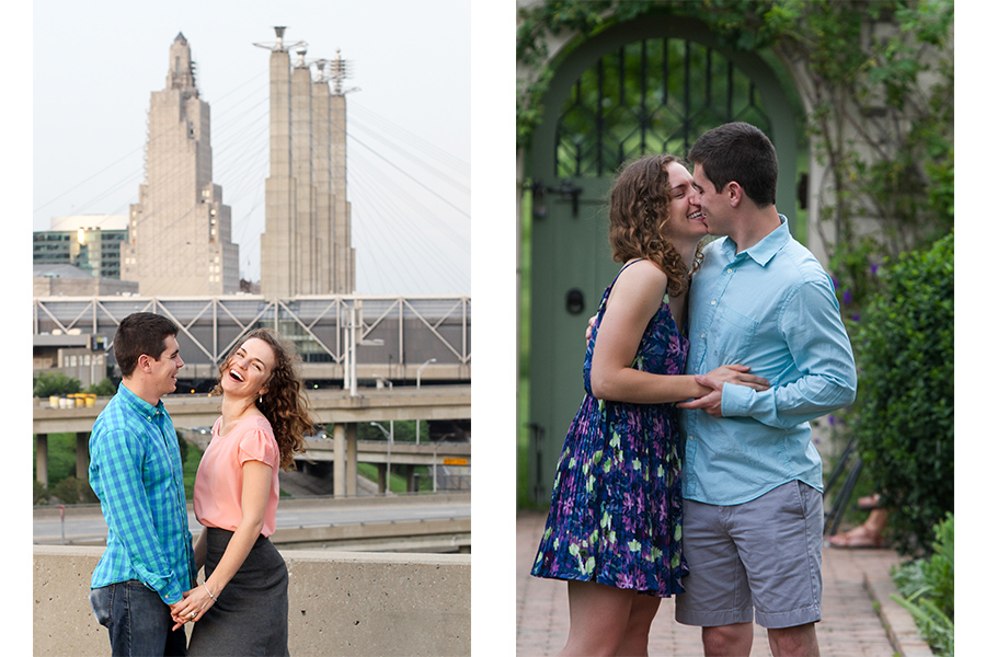 Engagement Photography, Kansas City Engagements, Portraits