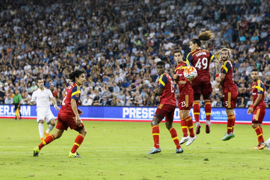 Sporting Kansas City, Real Salt Lake, soccer, action photography, sports photography